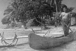 Traditional canoe