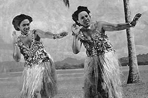 Tongan dance girls